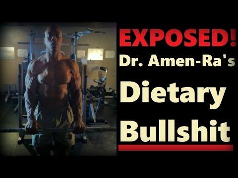 Crushing Dr. Amen-Ra's Dietary Bullsh1t WITH SCIENCE! - Cory McCarthy -
