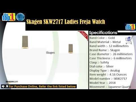 Skagen SKW2717 Ladies Freja Watch