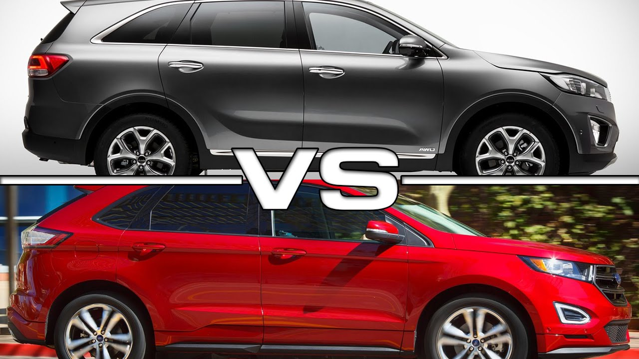Kia Sorento Vs Ford Edge