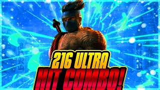 Longest Ultra Combo 216 Hits: Jago Killer Instinct Xbox One