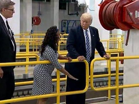 Raw: Trump Tours Flint Water Treatment Plant