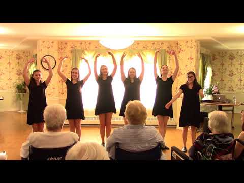 """St Frances Theatre Group at the Belair Care Center """"Be Our Guest"""""""