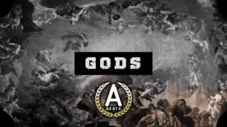 """Gods"" Sad Dark Cloud Trap Hip Hop Instrumental Rap Beat 