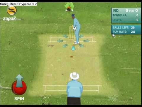 free online cricket games play now 2009
