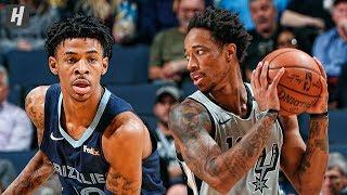 San Antonio Spurs vs Memphis Grizzlies - Full Highlights | January 10, 2020 | 2019-20 NBA Season