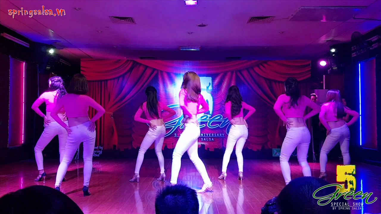 "GREEN 5"" SHOW DANCE 2016"