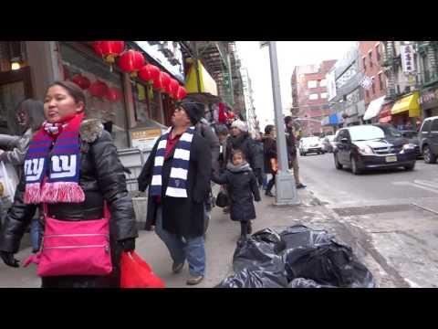 Walking in lower Manhattan New York part 2