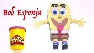 Bob Esponja con Play Doh - Stop Motion