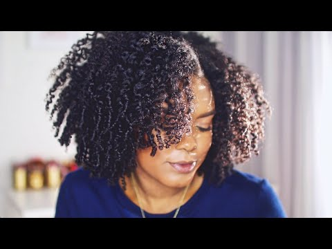 Chunky Twist Out on Natural Hair | MiniMarley