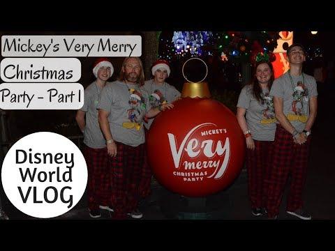 Mickey's Very Merry Christmas Party Part 1 - Disney World Vlog