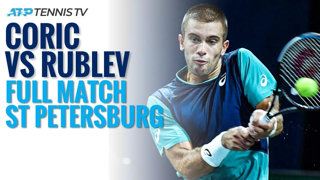 Borna Coric v Andrey Rublev: Full Match | St Petersburg 2020