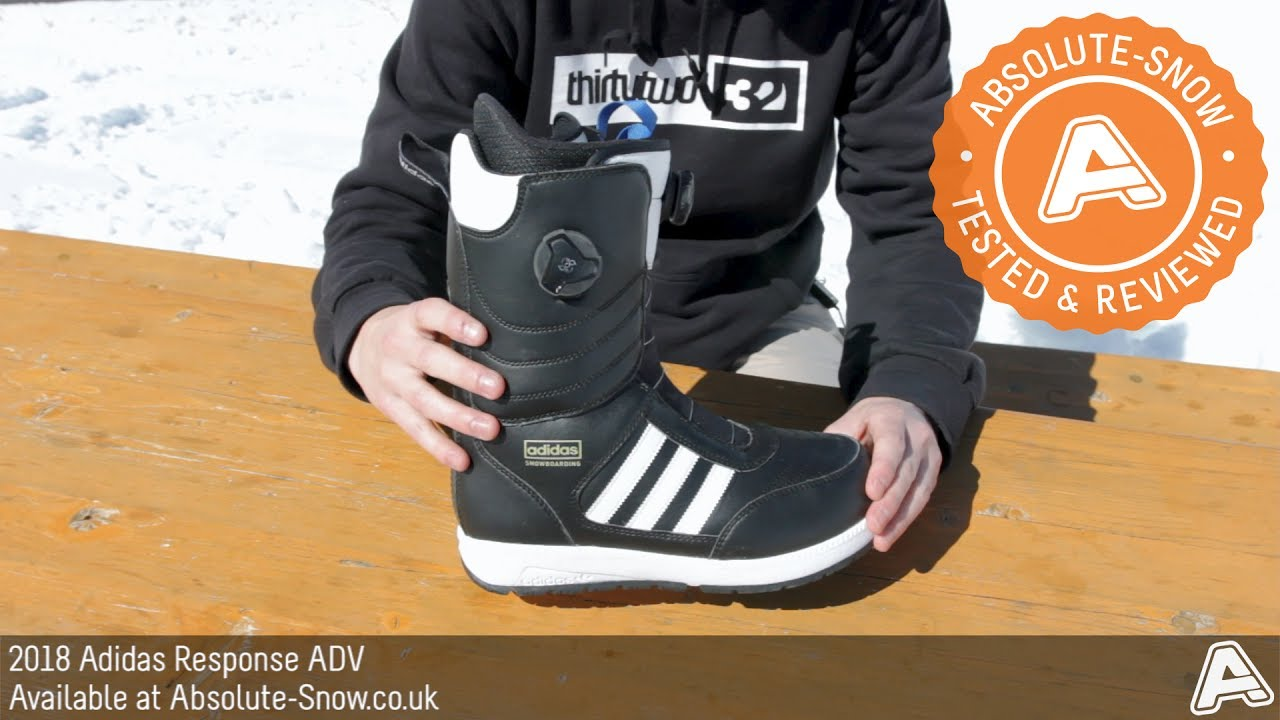 new style 3b2a0 c10b0 2017   2018   Adidas Response ADV Snowboard Boots   Video Review