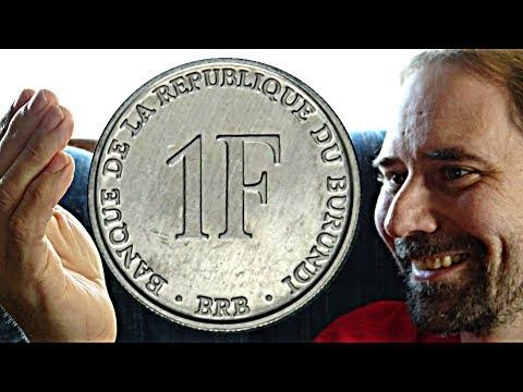 Burundi 1 Franc 1993
