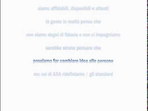 Spot AXA Assicurazioni