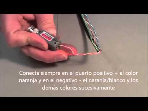 Como Instalar Camara Con Cable Utp Balum Y Conector De