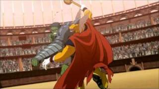 Planet Hulk vs Alien Thor