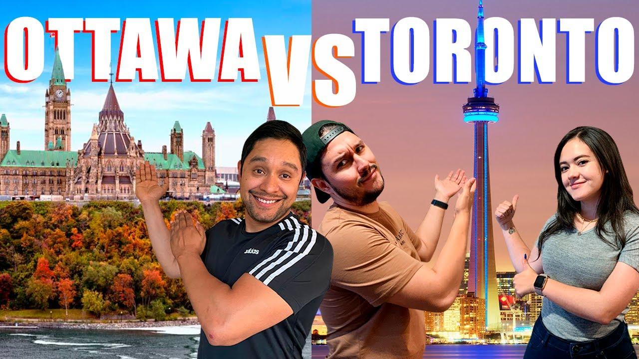 ¿Que ciudad es mejor en CANADA?   Ottawa vs Toronto