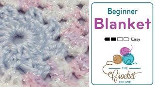 How to Crochet A Baby Blanket: Beginner