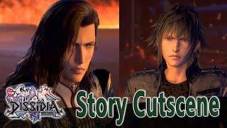 Vayne Carudas Solidor Story Cutscene + Fight - Dissidia Final Fantasy NT (DFFAC/DFFNT)