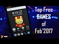 Top Free Android Games of February 2017 | Data Dock