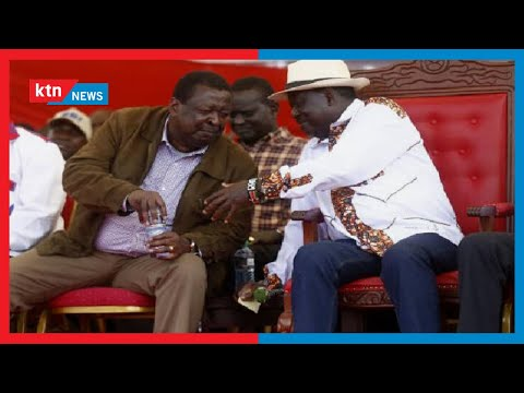 Race to State House: 'No one can lock me out of the Western region.' Raila tells opponents