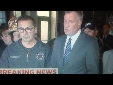 Body Language of New York Mayor Bill De Blasio while Lying to the World