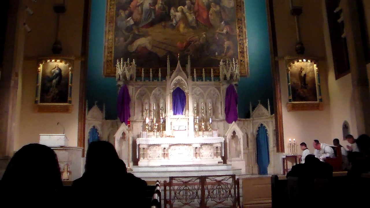 Passion Friday OL of Sorrows AD 2015 Holy Innocents NYC Part 3 of 5
