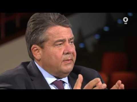 ARD - Farbe bekennen: Interview mit SPD - Chef Sigmar Gabriel