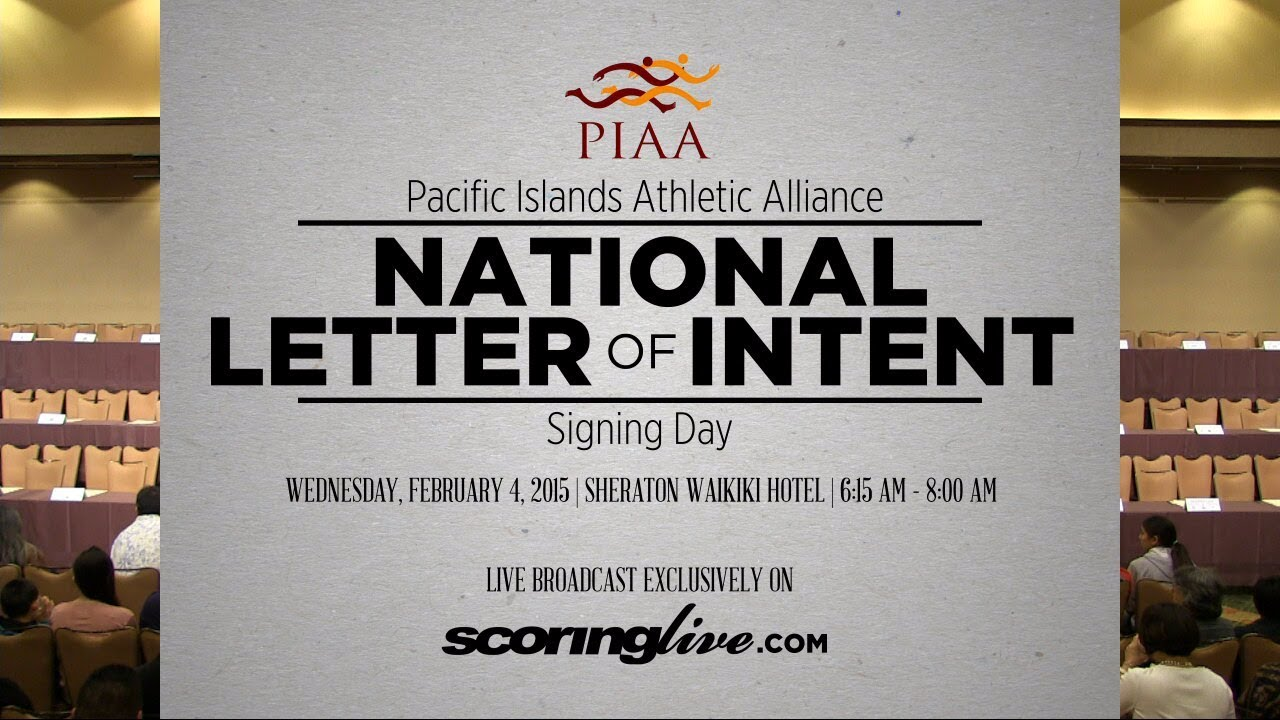 SL Stream | PIAA National Letter of Intent Signing Day (Feb. 4, 2015 ...