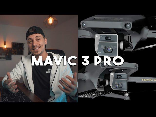 Mavic 3 Pro NEW Massive Leaks - 2 Cameras, 3 Versions, NEW Remote, Price