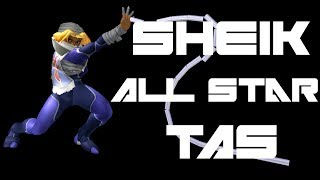 Sheik All Star TAS (Very Hard, No Damage) - SSBM