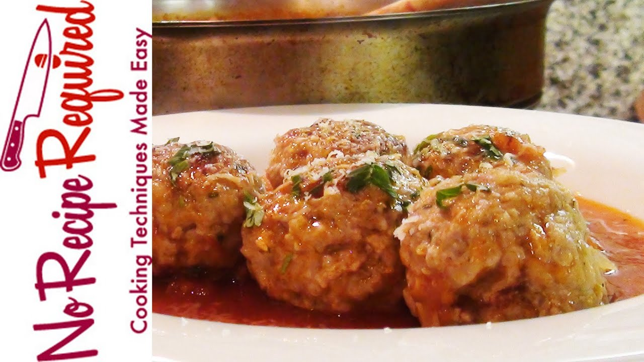 Easy meatball recipe martha stewart