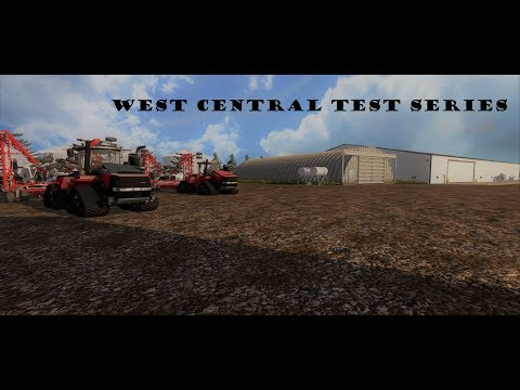 Farming Simulator 2017 Streaming West Central, testing all fields.