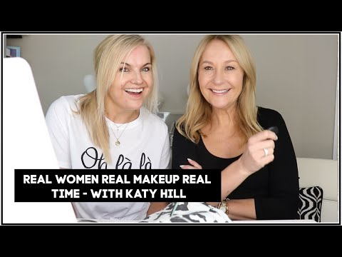 REAL WOMEN REAL MAKEUP REAL TIME - WITH KATY HILL