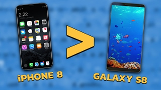 Will the iPhone 8 Beat the Galaxy S8?