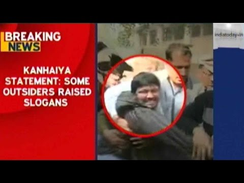 Kanhaiya Kumar Denies Raising Anti-India Slogans, Urges Students To Maintain Peace
