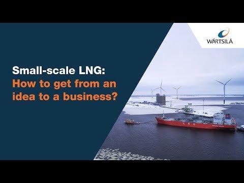 Developer's guide to small-scale LNG terminals | Wärtsilä