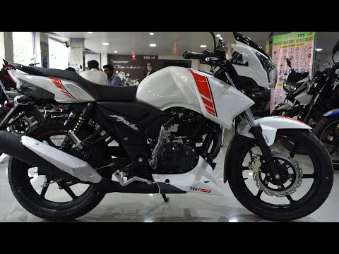 2019 TVS Apache RTR 160 ABS | White & Red Color | New Color  | Limited Edition | Honest Review |