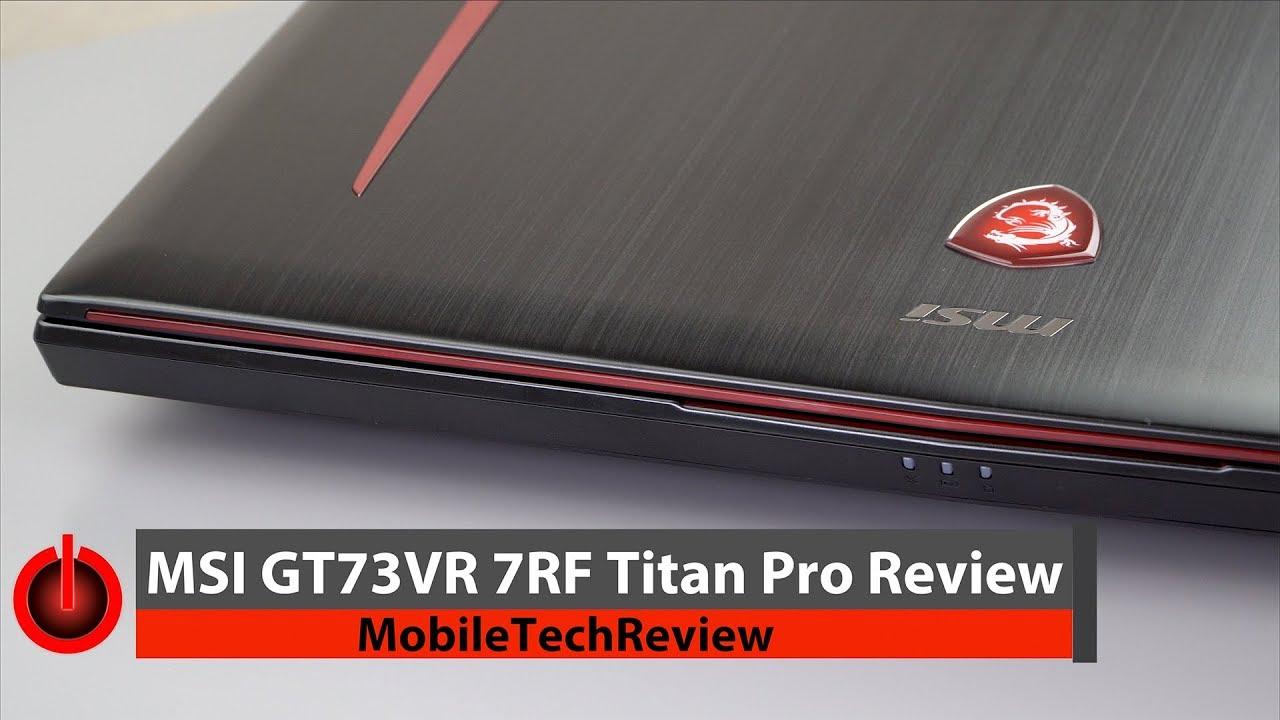 MSI GT73VR Titan Pro 4K Treiber Windows XP