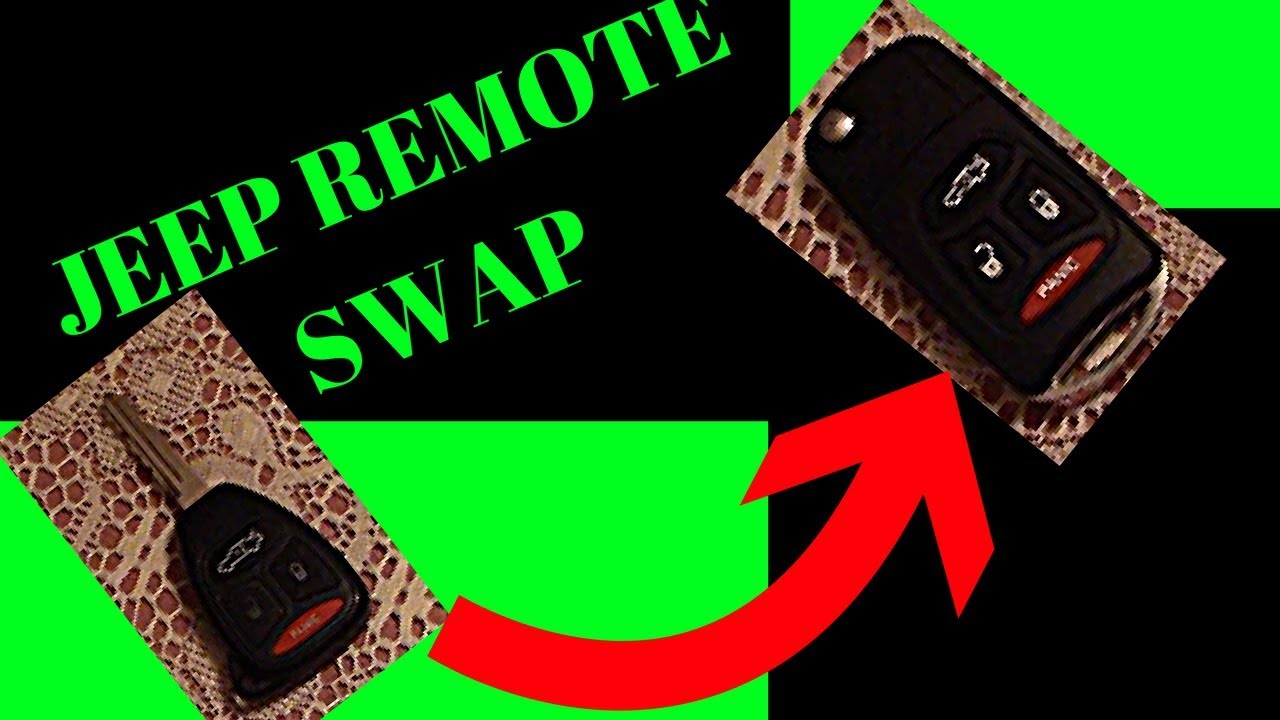 05 10 Jeep Grand Cherokee Key Fob Swap Youtube