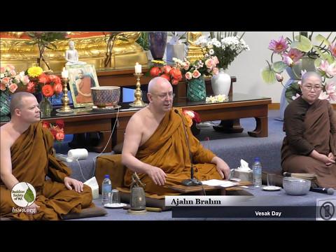 Vesak Day Celebration - Dhamma Talk Q&A Session   Ajahn Brahm   7 May 2017