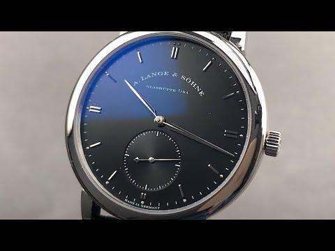 A. Lange \u0026 Sohne Grand Saxonia 307.029 A. Lange \u0026 Sohne Watch Review