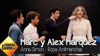 Anna Simon y su ropa antimanchas en El Hormiguero 3.0