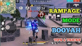 Free Fire Rampage Mode Tricks Tamil /Rampage Mode Booyah tips and tricks Tamil