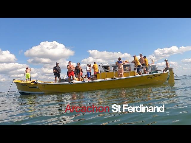 ARCACHON - Concours  des Interviews des Pinasseyres - Bassin d'Arcachon EP 6 Pinasses à voile