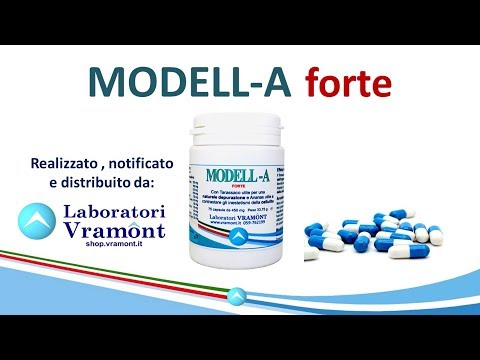 MODELL-A FORTE Integratore VRAMONT per drenaggio e cellulite