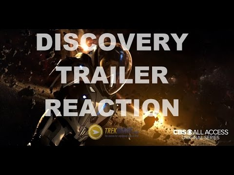 Thumbnail: Star Trek Discovery first trailer reaction