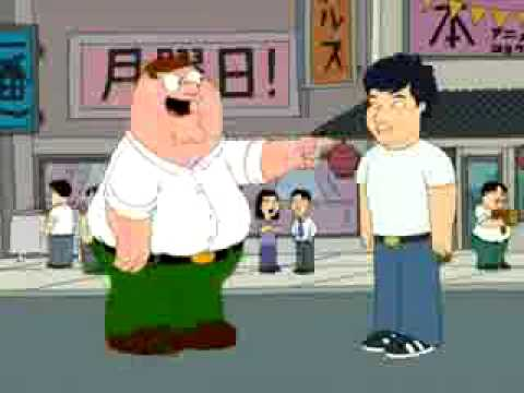 family guy jackie chan