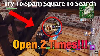 Fortnite How To Open An Ammo Box Twice Glitch | Double The Ammo