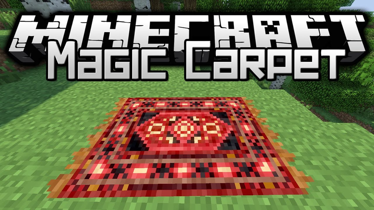 Minecraft - Mod Showcase - Magic Carpet ! | Doovi